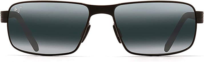 Maui Jim Sunglasses | Men's | Castaway 187 | Rectangular Frame, Polarized Lenses, w/ Patented PolarizedPlus2 Lens Technology