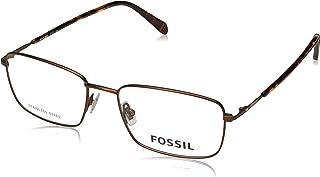 نظارات فوسل 7016 04IN بني مطفي / عدسات تجريبية 00