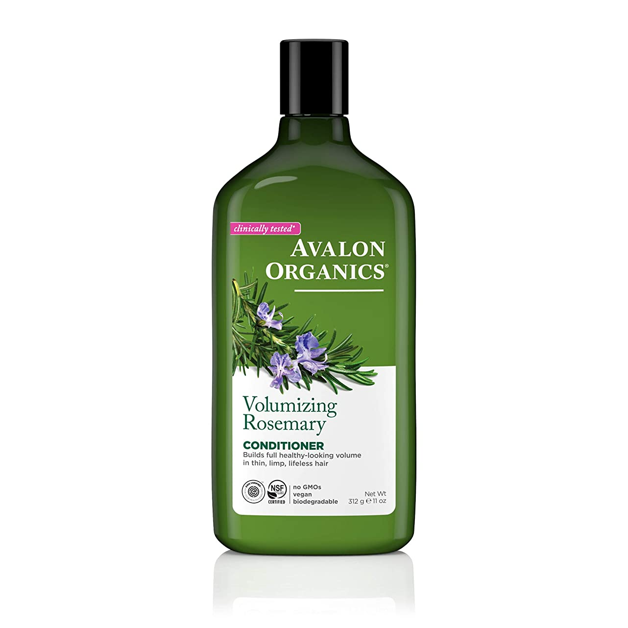 深めるたくさん死ぬアバロンオーガニック(Avalon Organics) ローズマリー コンディショナー 325ml