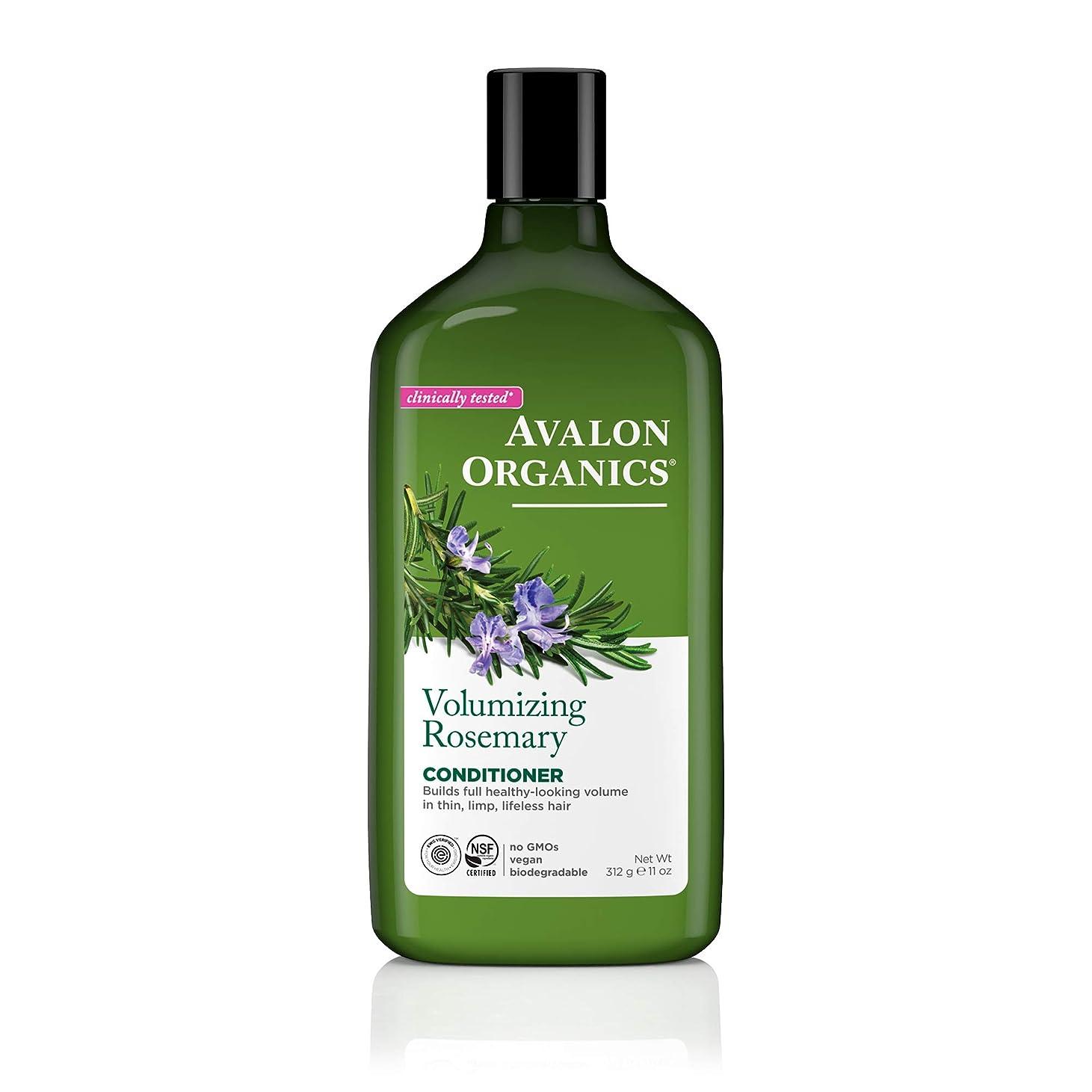 インフラ破滅的なテントアバロンオーガニック(Avalon Organics) ローズマリー コンディショナー 325ml