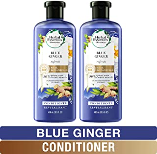 Herbal Essences, Volume Conditioner With Natural Source Ingredients, For Fine Hair, Color Safe, BioRenew Blue Ginger, 13.5...