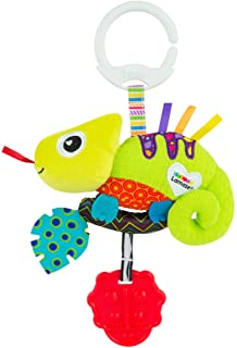 LAMAZE Mini Clip and Go Chameleon Baby Toy, Clip On Baby Pram Toy and Pushchair Toy, Newborn Sensory Toy for Babies Boys a...