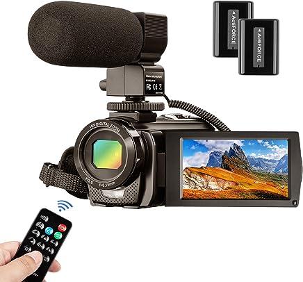 Video Camera Camcorder MELCAM 1080P 30FPS 24MP 3.0 Inch...