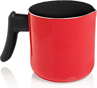 Candle Making Wax Pouring Pitcher - Double Boiler Pot by Essential Reserve (Red)