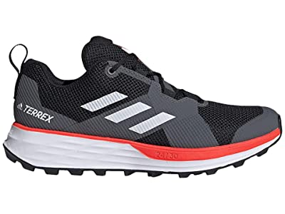 adidas Outdoor Terrex Two (Black/White/Solar Red) Men