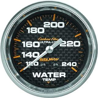 AUTO METER 4832 Carbon Fiber Mechanical Water Temperature Gauge