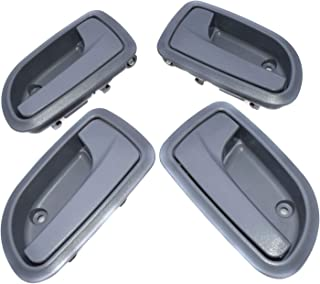 4PCS Left Right Grey Interior Door Handle for Kia Morning PICANTO Euro Star Naza
