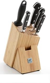 ZWILLING 38448-000-0 Bloc Couteau, Acier Inoxydable, Argent/Noir, 48 x 38 x 28 cm