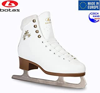 Model: Stella/Made in Europe (Czech Republic) / Figure Ice Skates for Women, Girls, Kids/Nicole Blades/White Color