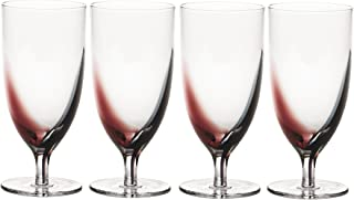 Mikasa Kya Iced Beverage Glass, 16-Ounce, Set of 4