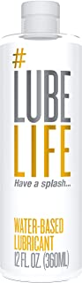 #Lube Life Lube Life Water Based Personal Lubricant, 12...