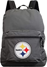 "Denco Pittsburgh Steelers Lightweight Backpack 16"" - Made in The USA - Ideal for Work, Hiking, Travel, School, Weekends, a..."