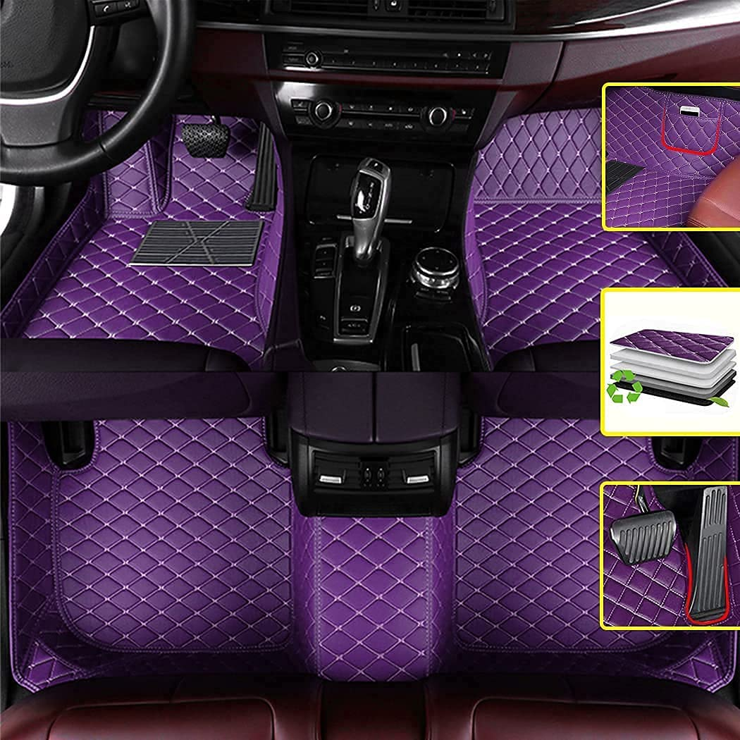 Our shop OFFers the best service Vonzasi Custom Diamond Free shipping Car Floor Mats for fit 2014-201 Fit Honda