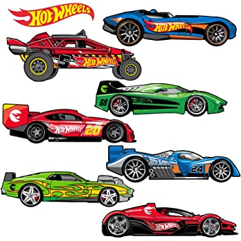 Hotmeini 20 8 Cm Hot Wheels Adhesive Funny Car Sticker For Truck Window Bumper Auto Suv Door Vinyl Decal 13 Colors Car Stickers Aliexpress