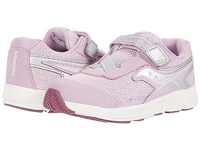 Saucony Kids Ride 10 Jr (Toddler/Little Kid) (Pink Metallic) Girls Shoes