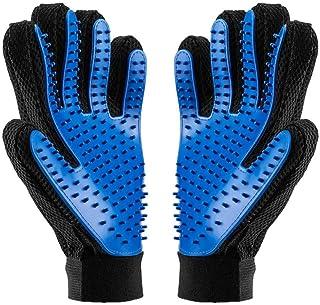 BYETOO Pet Grooming Glove,Pet Ninja Glove, Amazingly cat glove, Gentle Deshedding Brush Glove - Efficient Pet Hair Remover...