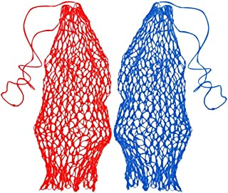 Baosity 2Pcs Ringed Haynets/Haylage Hay Net Small Mesh Holes Strong Nylon Haynet