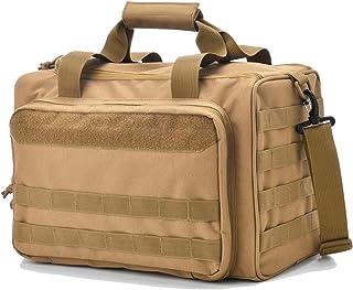 Taktisk pistol skjutbana väska lyx pistol skjutbana duffel väska svart