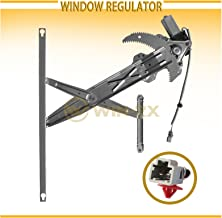 WIN-2X New 1pc Front Passenger (Right) Side Power Window Regulator & Motor Assembly Fit 96-00 Honda Civic 2-Door Coupe & 3-Door Hatchback