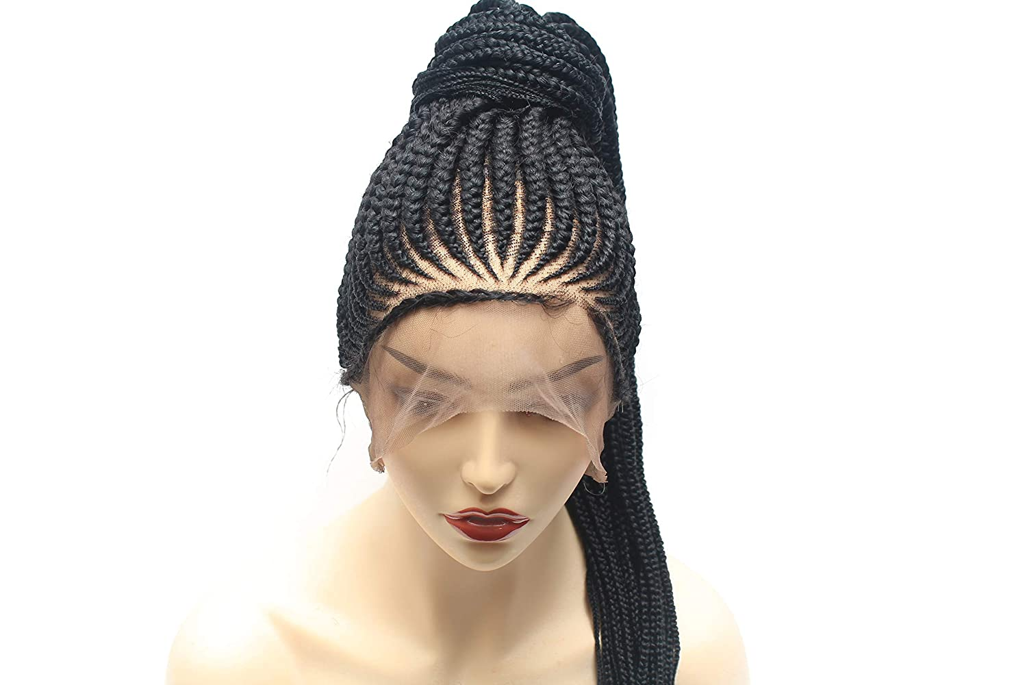 Braided Max 80% OFF full lace wig Cornrow weave braided Save money w hand fully