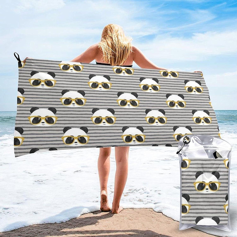 N\\A Pandas On Dots Max 48% OFF Beach Towel Swi Very popular Bath Towels Water Absorption