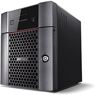 Buffalo TeraStation 3010 Series NAS Hard Drives Included Black Black 12 TB