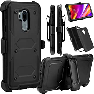 Venoro LG G7 ThinQ Case, LG G7 Case, Venoro Heavy Duty Shockproof Full Body Protection Rugged Case Cover with Swivel Belt ...