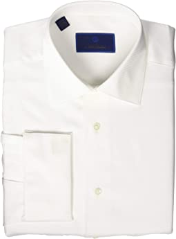 Regular Fit Horizontal Rib Formal Shirt