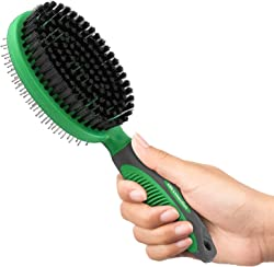 K9konnection Pin and Rubber Shedding Brush for Dogs