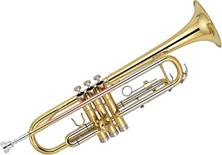 Kaizer C-Series (3000) Standard B Flat Bb Trumpet All New 2020 Model (Gold Lacquer Rose Brass)