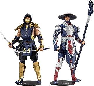 "McFarlane Toys Mortal Kombat Scorpion and Raiden 7"" Action Figure Multipack"
