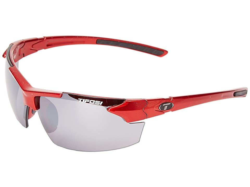 Tifosi Optics Jettm FC (Metallic Red) Athletic Performance Sport Sunglasses