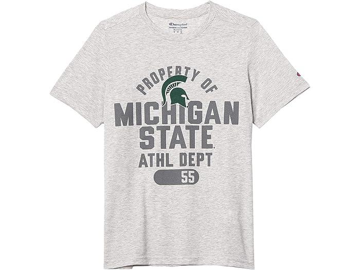 Champion NCAA Mens Field Day Heathered Short Sleeve T-shirt