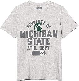 Michigan State Spartans Field Day Short Sleeve Tee (Big Kids)