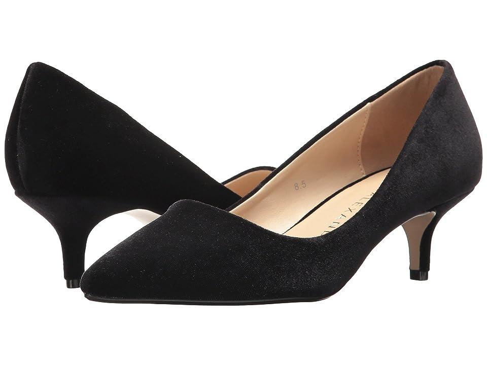 Athena Alexander Teague (Black Velvet Fabric) Women