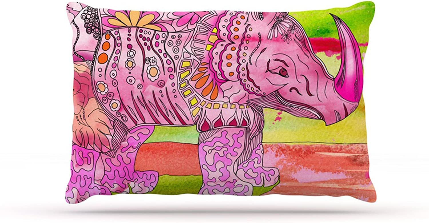 Kess InHouse Catherine Holcombe PsychoDelic Dan  Fleece Dog Bed, 30 by 40Inch