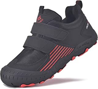 MARITONY Kids Hiking Shoes Boys Girls Water Resistant Anti-Collision Outdoor Non- Slip Lightweight Sneakers for Little Big...