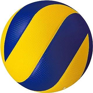 Perfeclan バレーボール ビーチバレー ソフト 5号球 アウトドア用 練習用ボール レザー製 一般・婦人バレー・高校生・中学生・初心者 屋内屋外