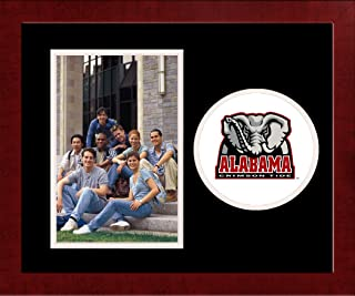 Campus Images NCAA Alabama Crimson Tide University Spirit Photo Frame Vertical