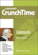 Emanuel CrunchTime for Contracts (Emanuel CrunchTime Series)