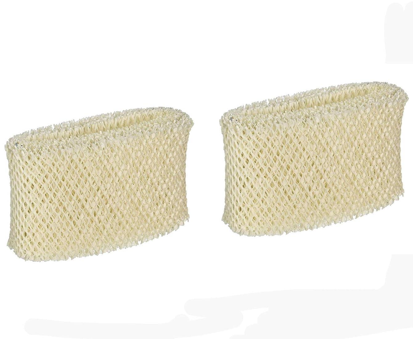 Ximoon 2 Pack Humidifier Filter for Vicks & Kaz WF2, Fit Vicks V3500N, V3100, V3900 Series, V3700, Sunbeam 1118 Series, Honeywell HCM-350 Series