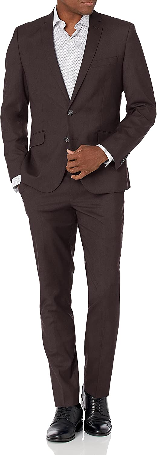 Billy Award-winning High material store London mens Slim Fit Finished Suit Bottom 32