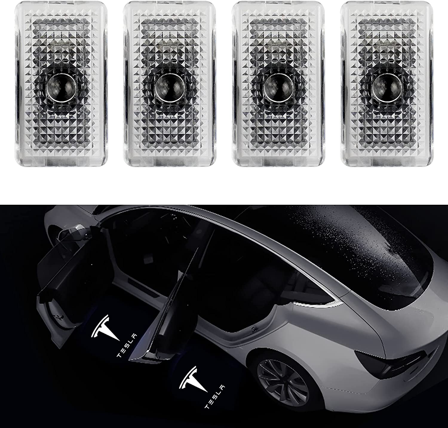 Farmogo Large-scale sale Car Door LED Logo lights Welcome puddle Projector Light Max 83% OFF