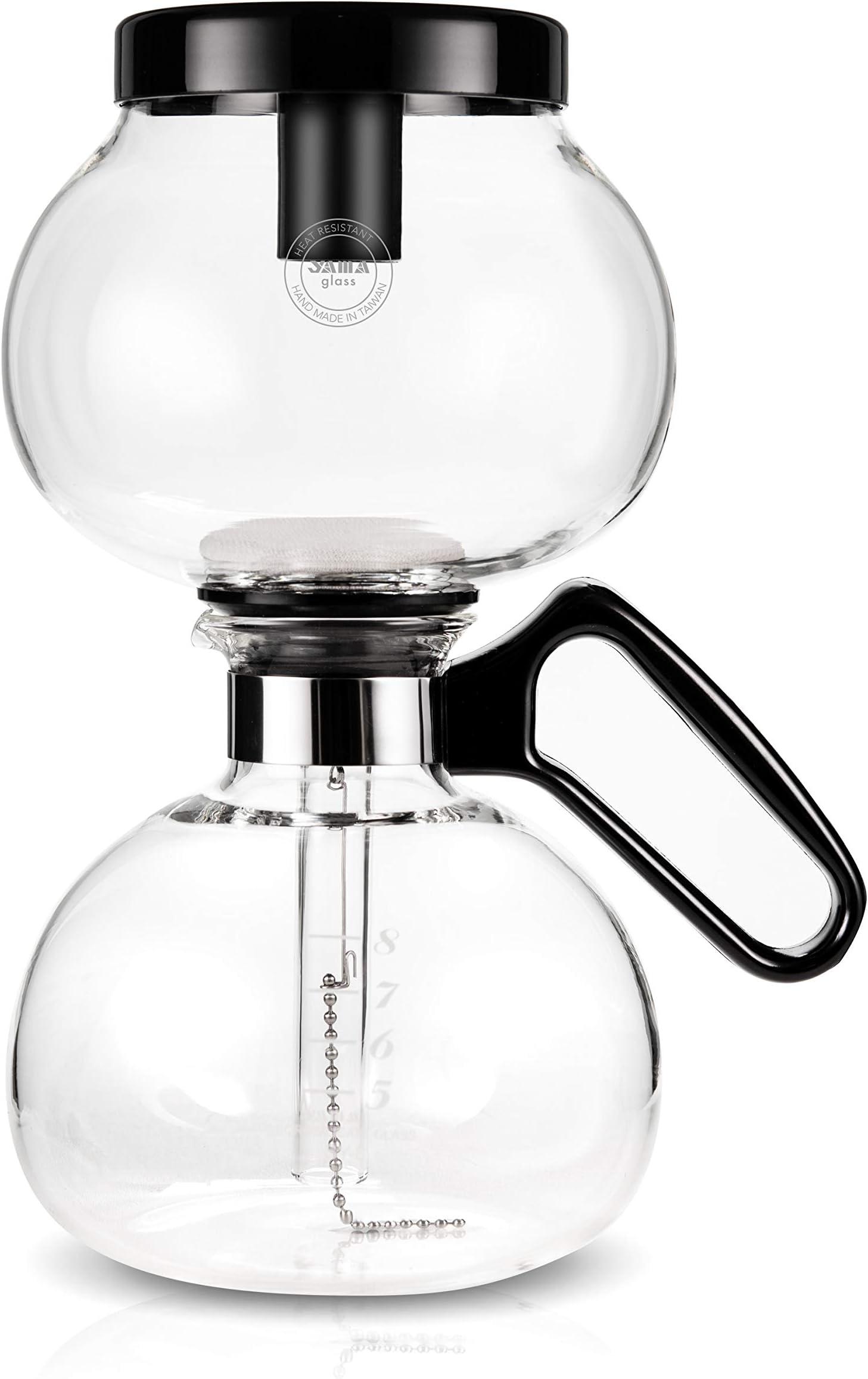 Yama Siphon 8 Cup/32oz/950ml Stove Top Coffee Maker
