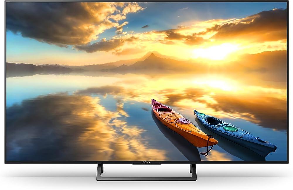 Sony tv smart da 49 pollici ultra hd, high dynamic range KD49XE7004BAEP