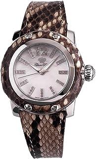 Glam Rock - GR40006 - Reloj analógico de Cuarzo para Mujer con Correa de Piel, Color Multicolor