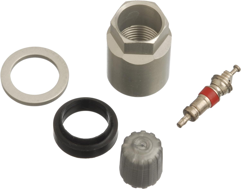 4 Sets Car Tire Pressure Sensor TPMS Service Kit with Nut Valve Cap Gasket