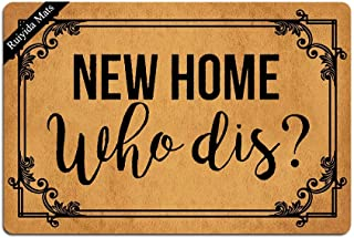 Best new home who dis mat Reviews