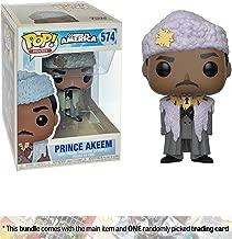 Funko Prince Akeem: Coming to America x POP! Movies Vinyl Figure + 1 Classic Movie Trading Card Bundle [#574 / 30803]