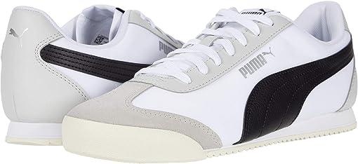 Puma White/Puma Black/Whisper White